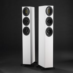 Scansonic M20 Floorstanding Speakers White Pair