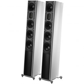 Scansonic MB5 B Floorstanding Speakers White Pair