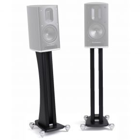 Scansonic MB-Series Twin Pillar Speaker Stands Pair Black