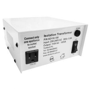 100W Step-down Power Transformer 110V Dielectrically Isolated