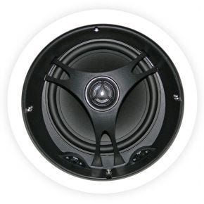 "Selby 6.5"" Poly Cone Angled In Ceiling Centre Single Speaker XD6204"