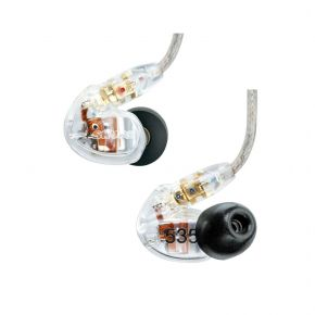 Shure SE535-CL In-Ear Earphones Sound Isolating (Clear) SE535CL