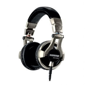 Shure SRH750DJ Professional DJ On-Ear Headphones