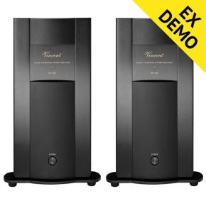 EX DEMO! Pair of Vincent SP-998 Monoblock Power Amplifiers Black