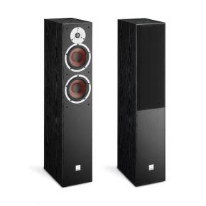 "DALI Spektor 6 Dual 6.5"" Floor Standing Speaker Pair Black Ash"