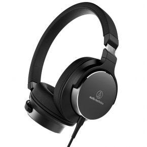 Audio-Technica ATH-SR5 High Res Audio On-Ear Headphones w/ Inline Mic + Control
