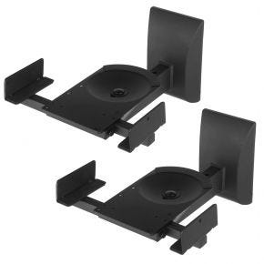 Loudspeaker Heavy Duty Wall Mount Brackets Pair for Bookshelf Speakers WBSM201