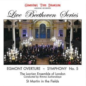 Live Beethoven Series - Egmont Overture & Symphony No 5 Live Chasing The Dragon CD