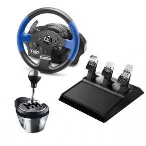 Thrustmaster T150 Pro Racing Wheel & TH8A Shifter Gearbox for PS4, PS3, PC T150PROPACK