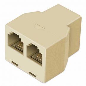 Avico Telephone Adaptor US Modular Socket To US Modular Socket 6P4C TA35