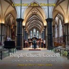 Chasing The Dragon Temple Church Concert CD