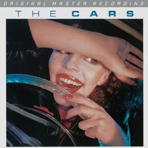 The Cars - The Cars MoFi LP 180g Limited Numbered