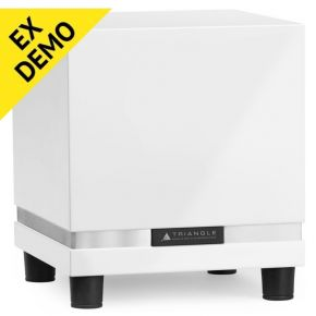 "EX DEMO 1 Only! Triangle Thetis 280 8"" Active Subwoofer White"