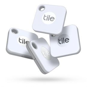 Tile Mate Bluetooth Tracker 4 Pack