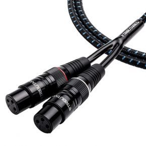 Tributaries Series 4 Balanced Stereo XLR Cable