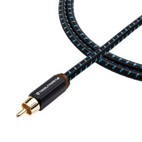 4m Tributaries Series 4 Subwoofer Cable (bagged)