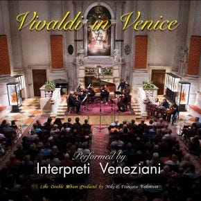 Vivaldi in Venice Chasing The Dragon Live Double CD