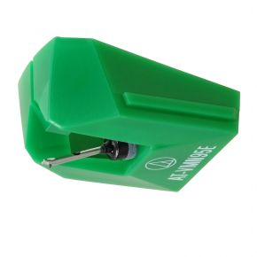 Audio-Technica AT-VMN95E Green Elliptical Replacement Stylus for VM Cartridge