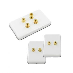 2.0 Pack of Speaker Wall Plates WP2.0