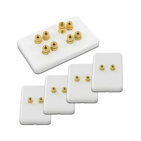 4.0 Pack of Speaker Wall Plates WP4.0