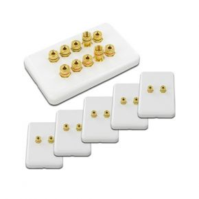 5.0 Pack of Speaker Wall Plates WP5.0