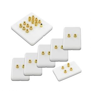 6.1 Pack of Speaker Wall Plates WP6.1