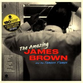 James Brown & The Famous Flames - The Amazing James Brown 180g LP
