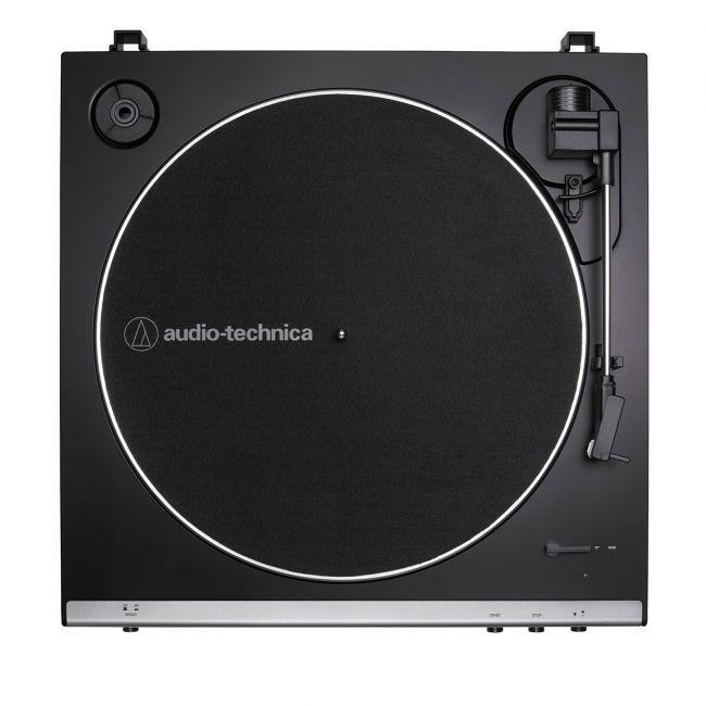 Audio-Technica AT-LP60X Automatic Belt Drive Turntable Gunmetal | Selby