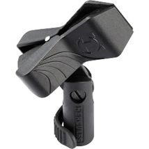 Hercules Microphone Clip Rubber Lined Holds 22-35mm MH100B