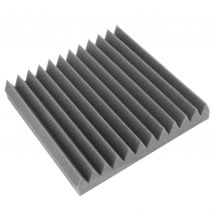 12 x Selby ART 300mm Dunlop Foam Acoustic Sound Treatment Panels Charcoal ART300ch12