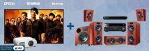 Krix Acoustix + Yamaha + Epson