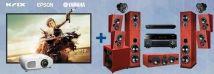 Krix Harmonix + Yamaha + Epson