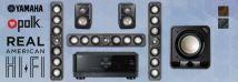 Polk S35 5.1 On Wall LCR Pack + Yamaha RX-V4A