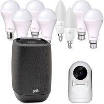 Polk Assist + Laser Smart Home Lighting and Security Pack