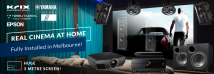 Real Cinema at Home 4K Fully Installed in Melbourne