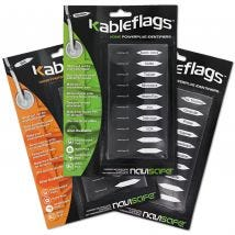 30 Pack Kableflags for Appliances, Tools & Office Value Bundle BUN900591