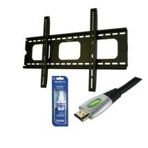 32-60inch TV Fixed Wall Mount Bracket Starter Package for LCD LED PCK301