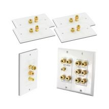 5.1 Speaker Wall Plate Package (Main Plate and Peripheral Plates) WPPK5.1