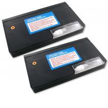 2 Pack RAXX VHS VCR Head Cleaner Kits