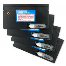 4 Pack RAXX VHS VCR Head Cleaner Kits