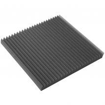 8 x Selby ART 600mm Dunlop Foam Acoustic Sound Treatment Panels Charcoal ART600ch8