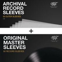 MoFi 50pcs Archival Record Outer and Inner Sleeves bundle