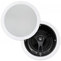 """Selby 6.5"""" Glass Fibre Cone Angled In Ceiling Speakers Pair XD6205B.x2"""