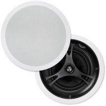 """Selby 8"""" Glass Fibre Cone In Ceiling Centre Speakers Pair XD8215B.x2"""