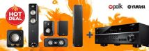 Polk S55 Pack + Yamaha RX-V585