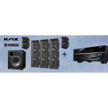 Krix Symmetrix Ecliptix 5.1 + Yamaha RX-V685