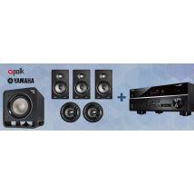 Polk V65 5.1 Pack + Yamaha RX-V485