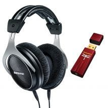 Shure SRH1540 Headphones & DragonFly Red USB DAC Headphone Amplifier BUN900602