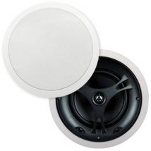 "Selby 6.5"" Glass Fibre In Ceiling Speakers Pair XD6215B.x2"