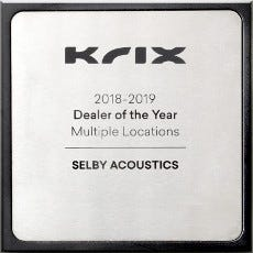 Krix dealer of the year 2018/2019 - Selby Acoustics